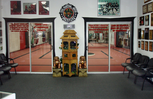 The Martial Arts Institute Lobby