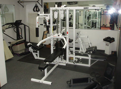 The Martial Arts Institute Weight Room